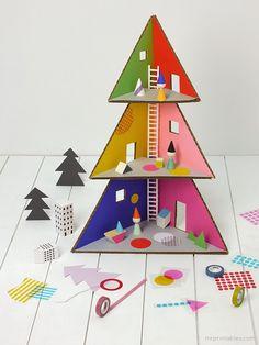 Miluccia ◆: DIY: Une maison de poupée pour noel
