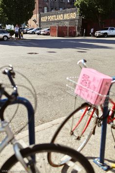 Keep Portland Weird Sign, 22 SW Third Ave, Portland, OR 97204 [Next to Voodoo Doughnut]