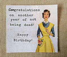 Best Happy Birthday Vintage Cards Products on Wanelo