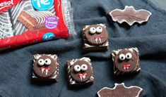 Galletas de Halloween de choco y mantequilla