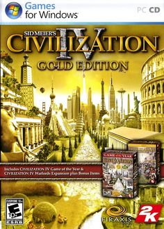 Sid Meier's Civilization IV is the ultimate PC strategy game, offering players the chance to lead their chosen nation from the dawn of man through the space age and become the greatest ruler the world has ever known. Now the complete Civilization IV experience is available, DRM (Digital Rights Management) free in Civilization IV: The Complete Edition. Containing the original Civilization IV strategy classic, plus the Warlords and Beyond the Sword expansion pack.