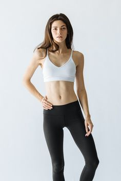 @kokurefit | kokure.com - Mia bra and black leggings
