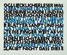 Kalligrafie - 13. Neuland