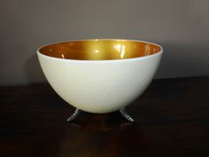The Ostrich, Egg Shells, Tea Lights, Serving Bowls, Tableware, Metallic, Gold, Crafts, Products