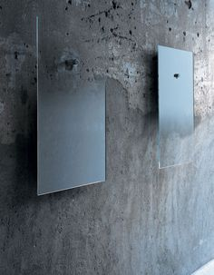 Fiction mirrors designed by Jean-Marie Massaud for Glasitalia