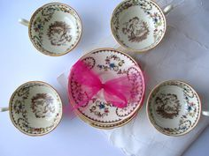 Vintage Royal Doulton The Beaufort Teacups & by thechinagirl just listed!