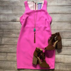 Feeling very •Pretty in Pink• in this amazing dress! Perfect for any occasion you have coming up! $110 hemline metairie