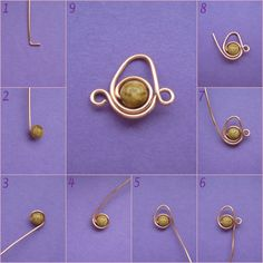Wire chain - translate post~ Wire Jewelry Tutorials