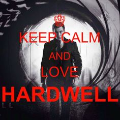 KEEP CALM AND LOVE HARDWELL!!! #hardwell #DJ #tomorrowland #tomorrowworld #music #best