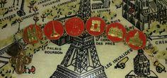 WWII memorabilia -- Paris Souvenir Bracelet