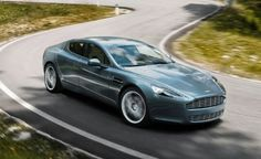 Aston Martin Rapide: I love the beauty of Aston's and this car is truly no exception to that rule!