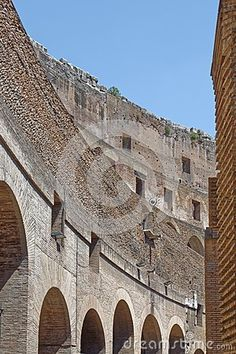 Coliseum Arches - Download From Over 35 Million High Quality Stock Photos, Images, Vectors. Sign up for FREE today. Image: 58990616