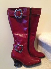W6 Rococo Boot! One of a kind and never worn. $250
