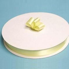 """100 Yards 7/8"""" DIY Yellow Satin Ribbon Wedding Party Dress Favor Gift Craft /  Satin ribbons are coveted for their impeccable sheen and shiny luster. Our shiny and silky single sides satin ribbons are perfect for gift wrapping, personalized wedding tags, veils, crafting etc. Glossy satin ribbons are the ribbons of choice for weddings and other festive occasions. Their silky, glossy surface makes them simply irresistible. Our ribbon spool has an appealing elegance that will impart a regal feel to Wedding Tags, Ribbon Wedding, Wedding Party Dresses, Wedding Bouquets, Simple Gifts, Home Decor Items, Banquet, Craft Gifts, Personalized Wedding"""