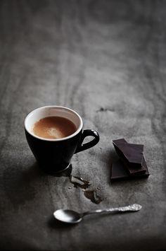 black chocolate I love it