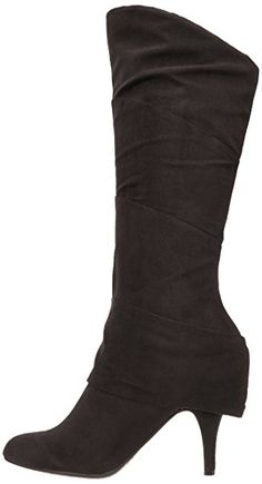 Fergalicious Women's Pledge Boot,Black,6 M US