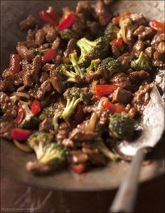 Stir Fried Beef and Broccoli