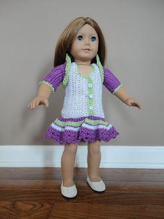 Ag girl crochet dress