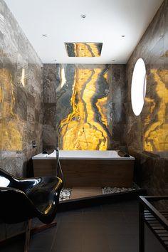 вдохновение недели : Ванная комната | Home and Interiors, свет, отражение, ванна, детали, интерьер
