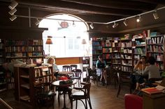 Book in Bar is an international cafe and bookstore in Aix-en-Provence.