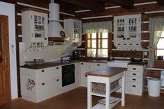 Fotoblog uživatelky vendulac | Modrastrecha.cz Dream Furniture, Cabin Interiors, Bedroom Decor, Cottage, Kitchen, House, Inspiration, Design, Home Decor