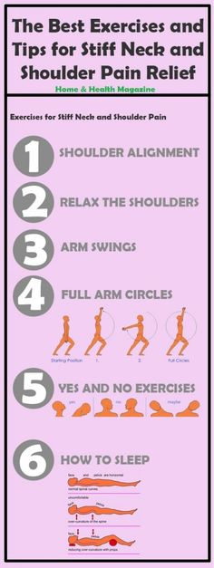 The Best Exercises and Tips for Stiff Neck and Shoulder Pain Relief - Home & Health Magazine Shoulder Pain Relief, Neck And Shoulder Pain, New Soul, Arm Circles, Stiff Neck, Quiet Storm, Baby Girl Christening, Soul Searching, Health Magazine