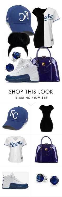"""""""• L o y a l T o T h e R o y a l s • Contest •"""" by sarajordan2993 ❤ liked on Polyvore featuring Majestic, MCM, NIKE and Bling Jewelry"""