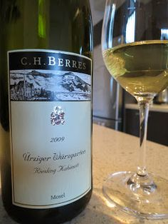 Wine review of the gorgeous 2009 C.H. Berres Ürziger Würzgarten Riesling Kabinett from Mosel, Germany