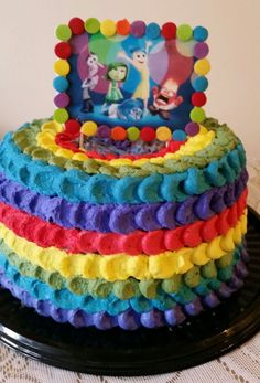 Torta intensamente Birthday Cake, Desserts, Food, Small Kitchens, Food Cakes, Tailgate Desserts, Deserts, Birthday Cakes, Essen
