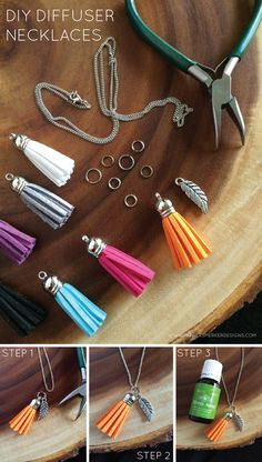 12 Days Of Homemade Gifts {Diffuser Necklaces} by Pamela Smerker Designs