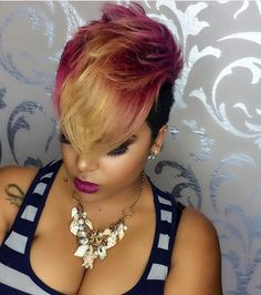 Love this cut and colors