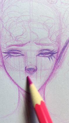 How to draw lips ✏️👄✨on your character