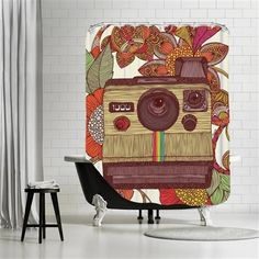 Valentina Ramos - Out of sight, Shower Curtain, 180x180