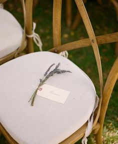 Creative Ways to Designate Reserved Ceremony Seats | Brides.com