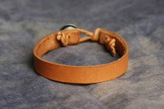 Barrett Alley - Handmade in the USA | Leather Accessories, Jewelry, and Vintage Relics | Valerie Bracelet - Natural ($20-50) - Svpply