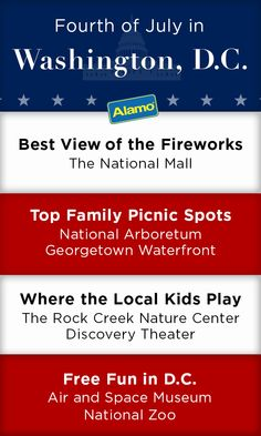 Washington, D.C. is one of Alamo's top family-friendly travel destinations for July 4th. Here are our tips for best view of the fireworks, local attractions, kid-friendly activities, and free fun in D.C. Just rent a car and hit the road!