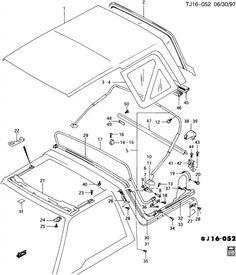 Geo+Tracker+Top | Geo Tracker Body Parts Diagram