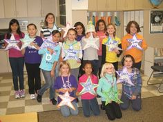 Give each girl a SUPER-star energy award!