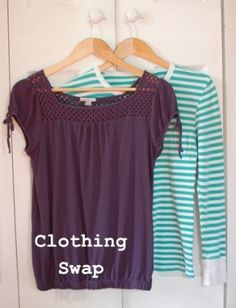 Tips for a Successful Clothing Swap