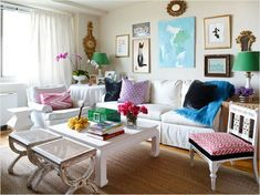 a peek at some of my favorite smaller living room spaces