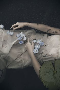 in the dark lake by monia merlo on Flickr.