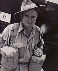 LABUAN ISLAND. 1945-08-27. QX40065 SERGEANT A. CUSACK (OF MARYBOROUGH, QLD), 1ST PARATROOP BATTALION,