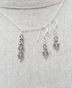 Check out this item in my Etsy shop https://www.etsy.com/uk/listing/281418112/black-diamond-swarovski-crystal-earring