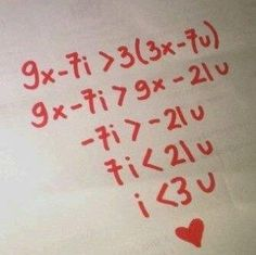 "My inner math nerd heart just exploded a little. Then my actual math nerd said read it out loud. ""I is less than 3 of u"" Nerd Love, My Love, Love You Cute, Love Letters, Alphabet Letters, Valentines Day, Nerd Valentine, Valentine Cards, Love Quotes"