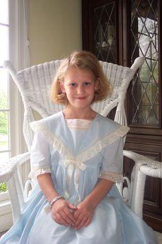 Dress made by Linda Regan Creamer. Dress is pattern from Sew Beautiful Jan/Feb 1995.
