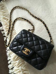 New baby Chanel mini square❤️