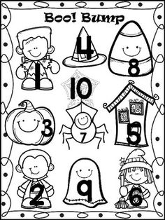 946 best fall halloween images activities preschool halloween Halloween Scavenger Hunt Clues boo bump fall halloween