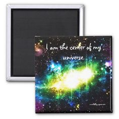 New from the Abby Wynne Collection! 15% off code: LUCKYTEE4YOU http://www.zazzle.com/abby_wynne_collection_i_am_the_center_magnet-147876465257093125 #abbywynne #inspiration #healing #energy #spirituality #universe #cosmic