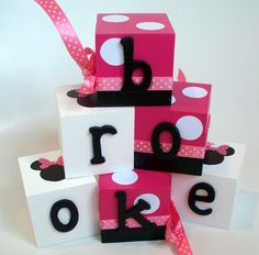 Personalized Name Blocks Brooke by SweetOliviaDesigns on Etsy, $4.00