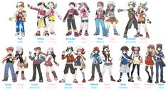 Pokémon X and Y Characters